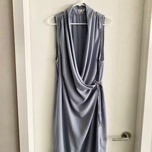 Aritzia Wilfred Crepe Wrap Dress L